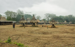 Wogo village, Flores island Royalty Free Stock Images