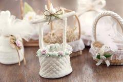 Wohle Hochzeits-Dekoration Stockfotografie