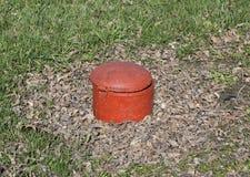 Wohle Luke System der Kanalisation im Park Wohle Luke Lizenzfreies Stockfoto