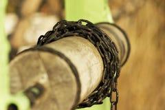 Wohles Detail Stockfotos