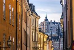 Wohlhabende Stockholm-Ansicht Lizenzfreies Stockfoto