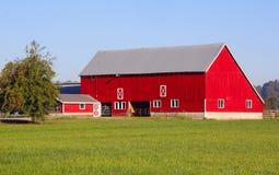 Wohlhabender kanadischer Bauernhof Stockbild