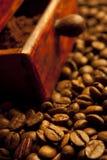 Wohlriechender gebratener Kaffee Stockfotografie