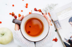 Wohlriechender Tee Stockbild