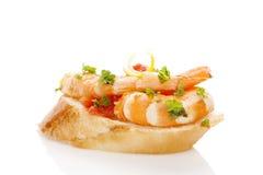 Wohlschmeckend mit Krabbe lizenzfreie stockfotos