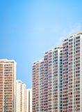 Wohn-aprtment im alten Bezirk, Hong Kong stockbild