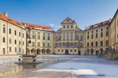 Wohn- und kultureller Komplex der Radziwill-Familie Stockfotografie