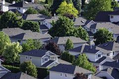 Wohn- Unterteilung im Okanagan-Tal West-Kelowna-Britisch-Columbia Kanada stockfotos
