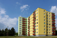 Wohnblöcke Stockfoto