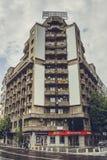 Wohnblock, Bukarest, Rumänien Stockbild