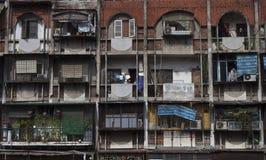 Wohnblock in Hanoi Lizenzfreies Stockfoto