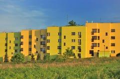 Blockwohnungen Lizenzfreies Stockbild