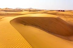 Wohnen in Sahara Stockfoto