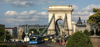 Wohnen Sie in Budapest Lizenzfreies Stockbild