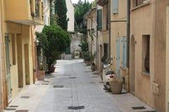 Wohnen Sie in Saint Tropez Stockfoto