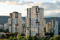 Wohngebäude Lizenzfreies Stockbild