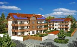 Wohngebäude vektor abbildung