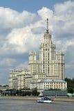 Wohngebäude auf Kotelnicheskaya-Damm in Moskau, Stockfotos