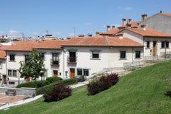 Wohngebäude in Avila, Spanien lizenzfreie stockfotos