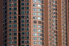Wohngebäude in der chinesischen Stadt Lizenzfreies Stockfoto