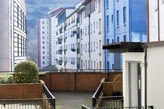 Wohngebäude in Edinburgh lizenzfreie stockfotografie