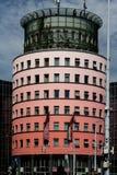 Wohngebäude in Hamburg stockfoto