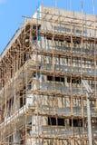 Wohngebäude im Bau Stockfotos