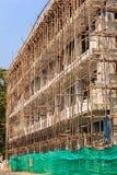 Wohngebäude im Bau Lizenzfreie Stockbilder