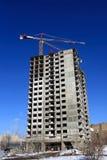 Wohngebäude im Bau Stockbilder