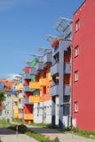 Wohngebäude im Wroclaw Polen. Lizenzfreies Stockfoto