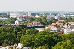 Wohngebäude in Kolobrzeg Lizenzfreies Stockbild