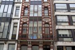 Wohngebäude in Ostende, Belgien stockbilder