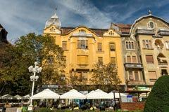 Wohngebäude-Stadtzentrum von Timisoara-Stadt Lizenzfreie Stockfotografie