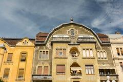 Wohngebäude-Stadtzentrum von Timisoara-Stadt Lizenzfreies Stockbild