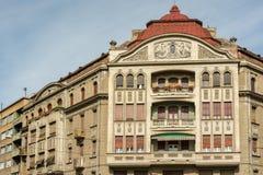 Wohngebäude-Stadtzentrum von Timisoara-Stadt Stockbild