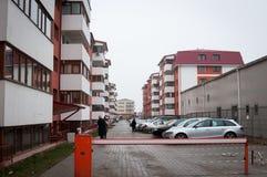 Wohngebäudekomplex Lizenzfreie Stockfotografie