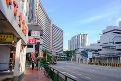 Wohngeb?ude fand allgemein in Singapur lizenzfreie stockfotografie