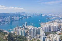 Wohngebiet in Hong Kong lizenzfreie stockfotos