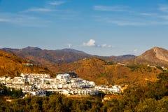 Wohngebiet von Màlaga Lizenzfreies Stockfoto