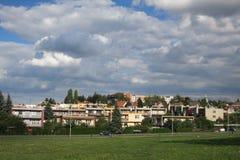 Wohnhäuser in Novy Jicin, Tschechische Republik Stockbild