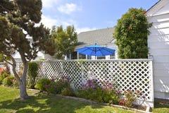 Wohnheim im Punkt Loma California. Stockbild
