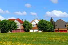 Wohnhäuser Stockfotos