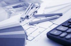 Wohninnenarchitektur und Hilfsmittel Lizenzfreies Stockbild