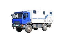 Wohnmobil-LKW Lizenzfreie Stockfotos