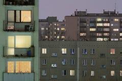 Wohnsiedlung lizenzfreies stockfoto
