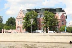 Wohnsitz des Botschafters von Australien (Prechistenskaya-Damm, 3 Gebäude 1) Lizenzfreie Stockfotos