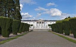 Wohnsitz des Präsident von Irland Stockfotografie