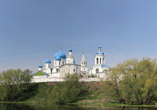 Wohnsitz des Prinzen Andrei Bogolyubskys, Russland Lizenzfreie Stockfotos