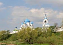 Wohnsitz des Prinzen Andrei Bogolyubskys, Russland lizenzfreie stockbilder