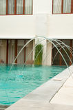 Wohnsitz-Swimmingpool Lizenzfreies Stockbild
